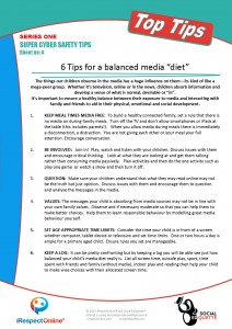 Tip Sheet 04 Healthy balance